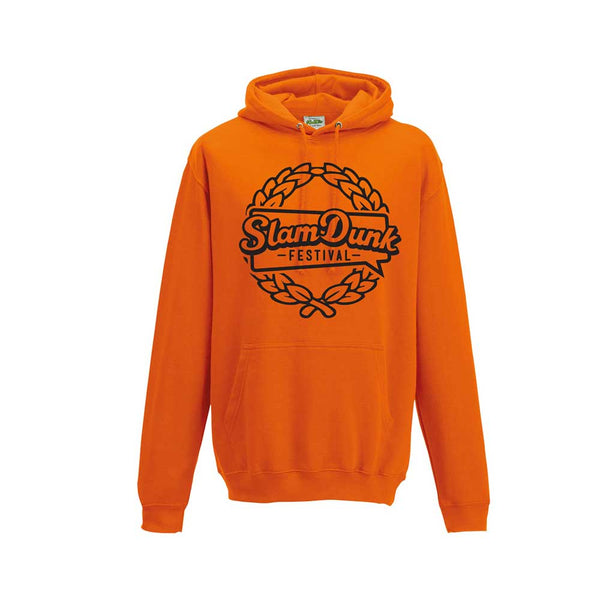 Orange Crush 'Laurel' Pullover Hoodie