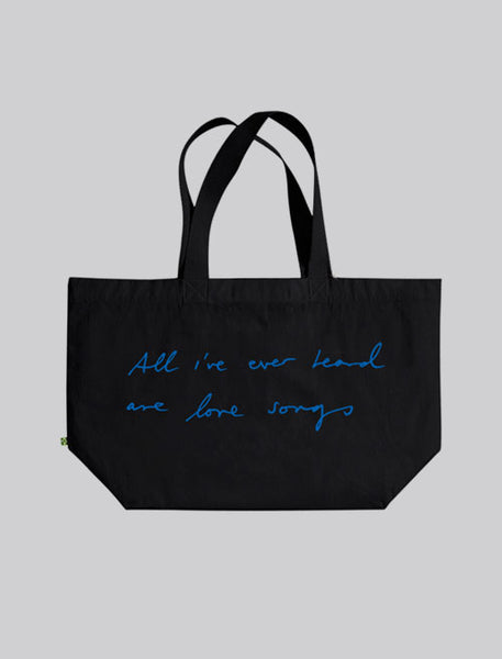 I DARE YOU BLACK TOTE BAG