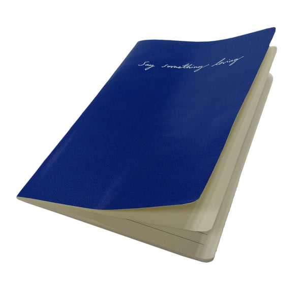 SAY SOMETHING LOVING A5 BLUE NOTEBOOK