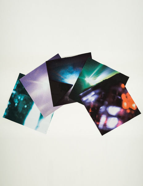 "RAF SIMONS / THE XX - SET OF PATCHES (12"")"