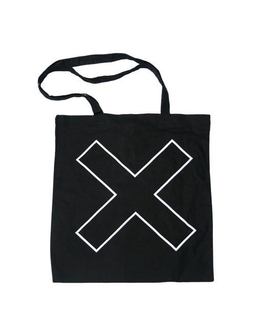 OUTLINE X BLACK TOTE BAG