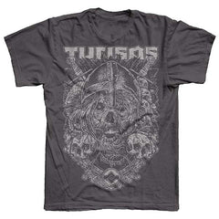 Charcoal Skull Mens & Womens T-Shirt