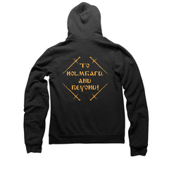 THE VARANGIAN WAY ZIP HOODY