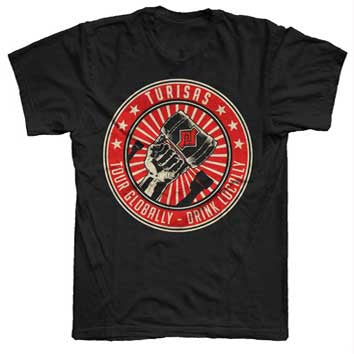 Black Tour Globally T-Shirt