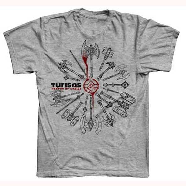 Grey Weapon Of Choice T-Shirt