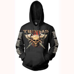 Black Axe Pull Over Hoody