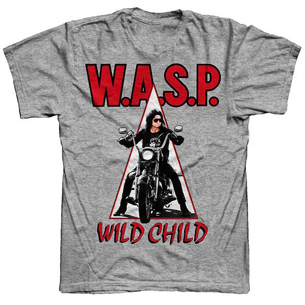 Grey Wild Child T-Shirt