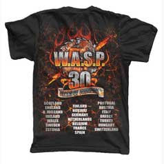 Black 30th Anniversary T-Shirt