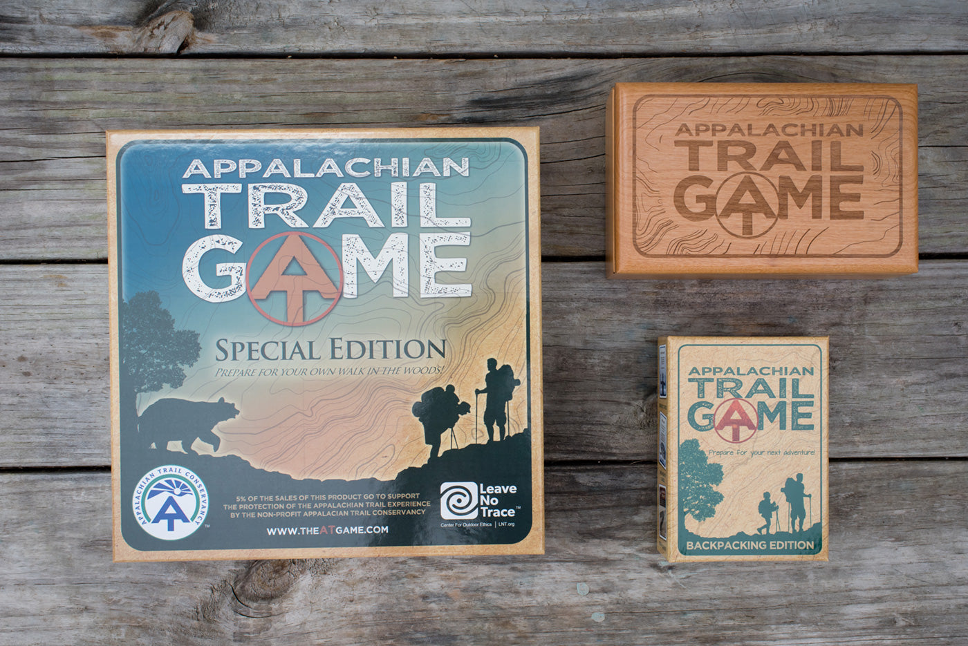 The AT Game Backpacking and Special Edition Board Game