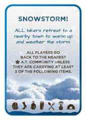 Appalachian Trail Weather card