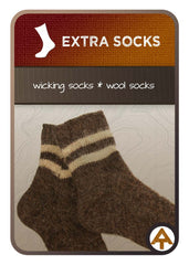 backpacking gear extra socks