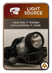 Appalachian Trail Gear head lamp