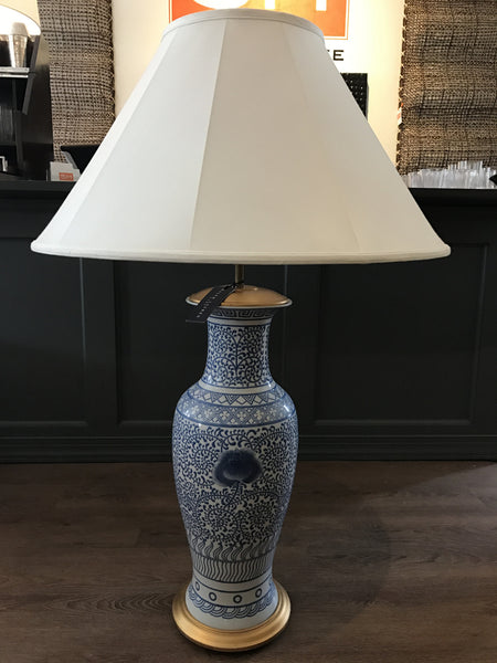 Ralph Lauren Home Lotus Floral Lamp