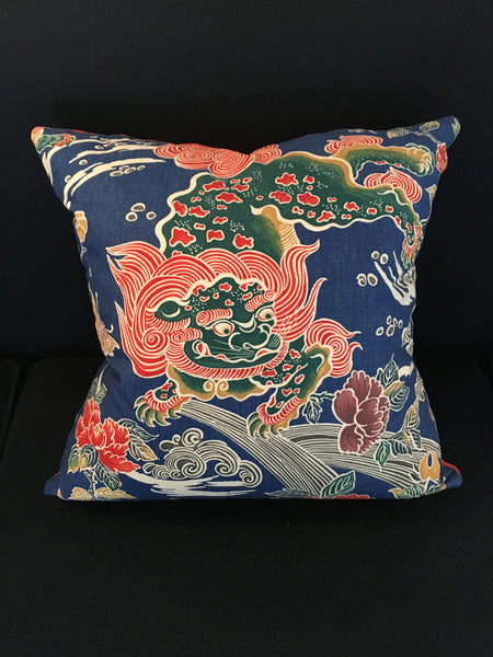 Custom ShiShi Dragon Pillow