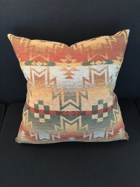 Custom Tribal Fair Pillow