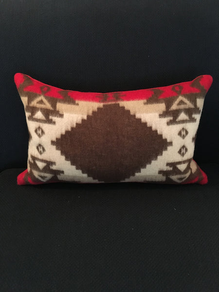 Custom Winter Blackbird Lumbar Pillow
