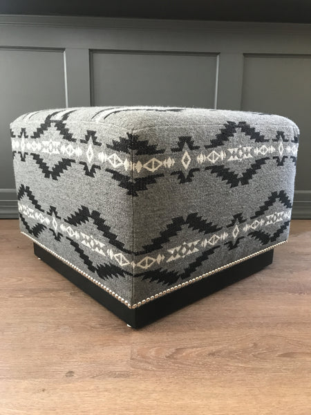 Ralph Lauren Home Modern Hollywood Ottoman - Aztec