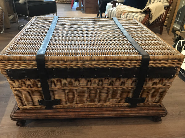 Ralph Lauren Home Marseilles Trunk on Stand