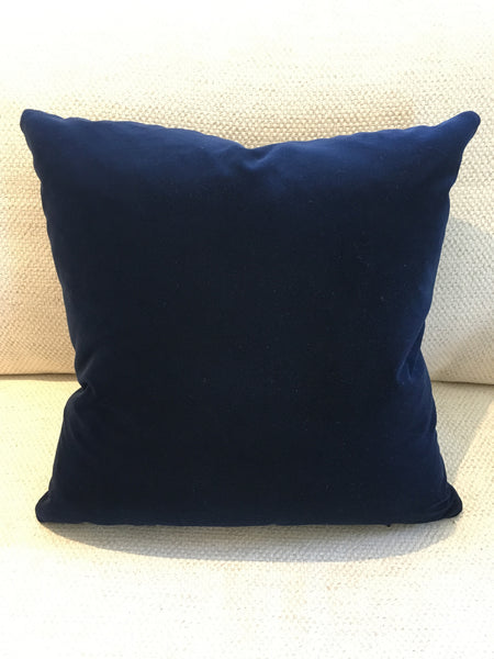 Custom Leicestershire Mohair Pillow