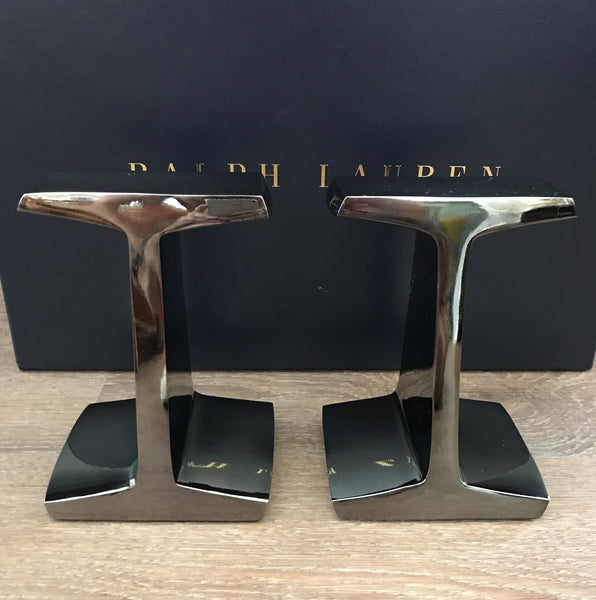 Ralph Lauren Home Albin I-Beam Bookends