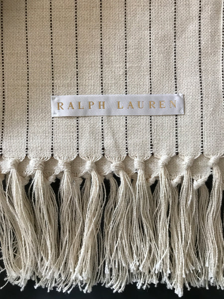 Ralph Lauren Home Audley Linen Throw