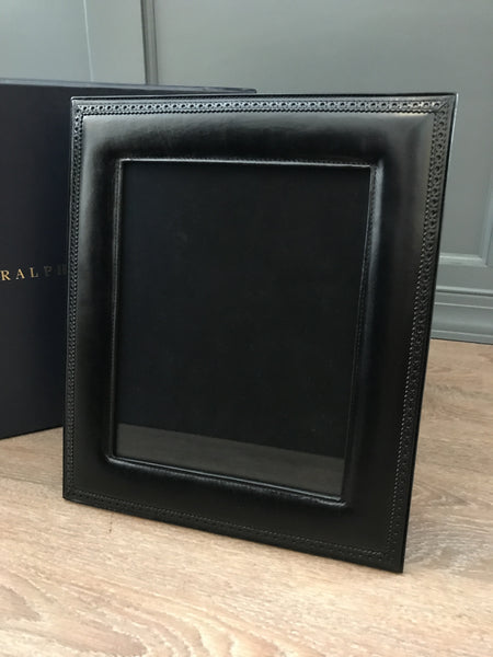 Ralph Lauren Home Brogue Leather Frame 8x10