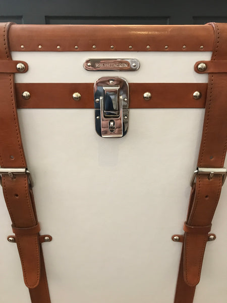 Ralph Lauren Home Oxford Trunk on Stand
