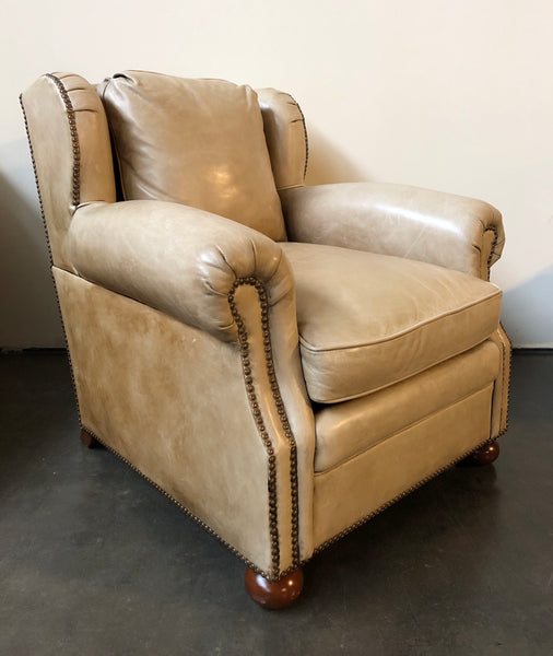Ralph Lauren Home Hither Hills Studio Chair in Leather