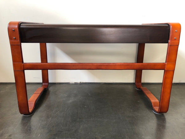 Ralph Lauren Home Leather Wrapped Desk