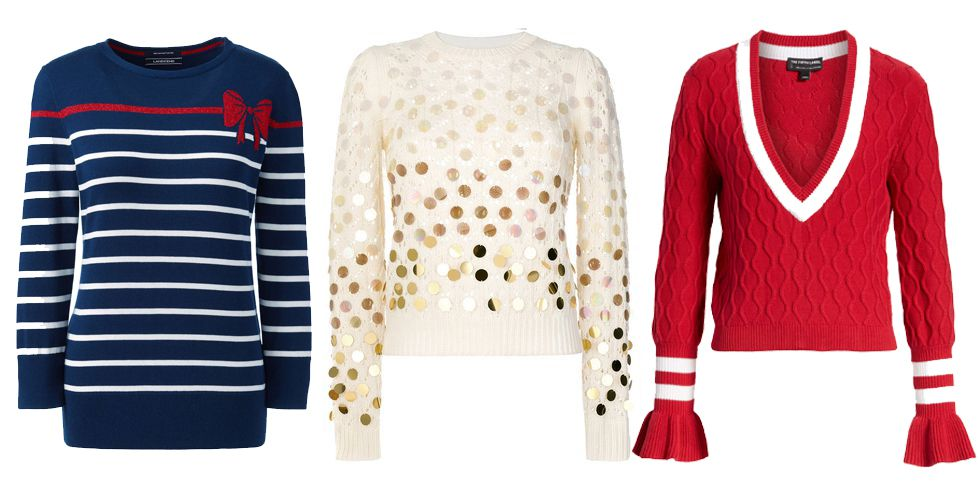 Pretty Christmas Sweaters You'll Actually Want to Wear Proof that holiday sweaters can be stylish.