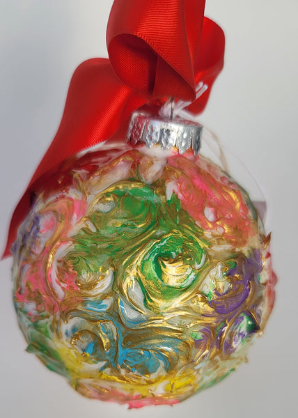 Designer Christmas Ornament ~ 2020 Collection #18