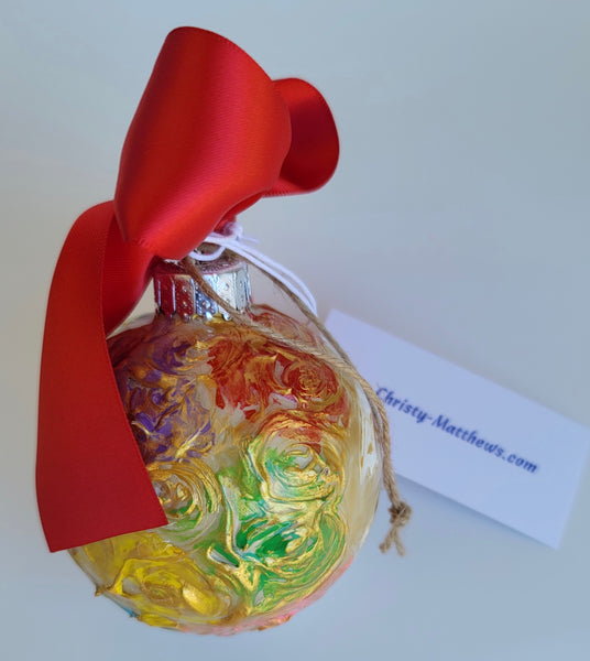 Designer Christmas Ornament - 2020 Collection #36