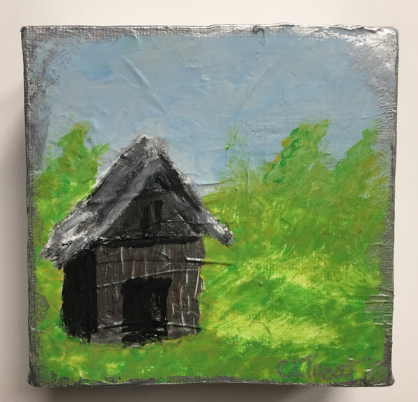 Old Silver Barn Painting - Donation: Woof Wag and Wine 2019