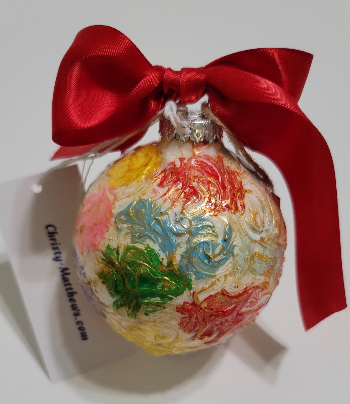 Designer Christmas Ornament ~ 2020 Collection #25