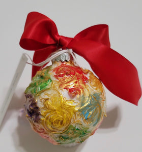 Designer Christmas Ornament ~ 2020 Collection #32