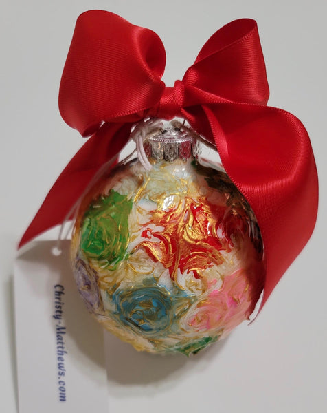 Designer Christmas Ornament ~ 2020 Collection #26