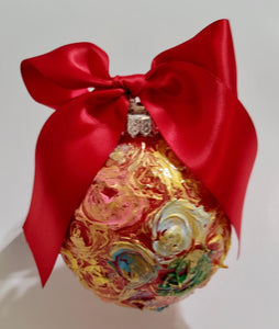 Designer Christmas Ornament ~ 2020 Collection #10
