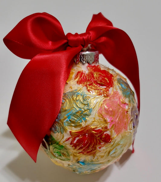Designer Christmas Ornament ~ 2020 Collection #22