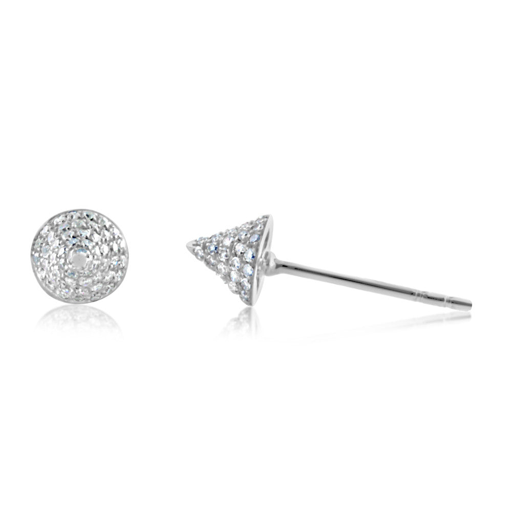 066e6258c Diamond Spike Stud Earrings Rose Gold - J. LUU