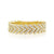 Diamond Chevron Ring Yellow Gold