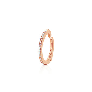 Diamond Ear Cuff Rose Gold