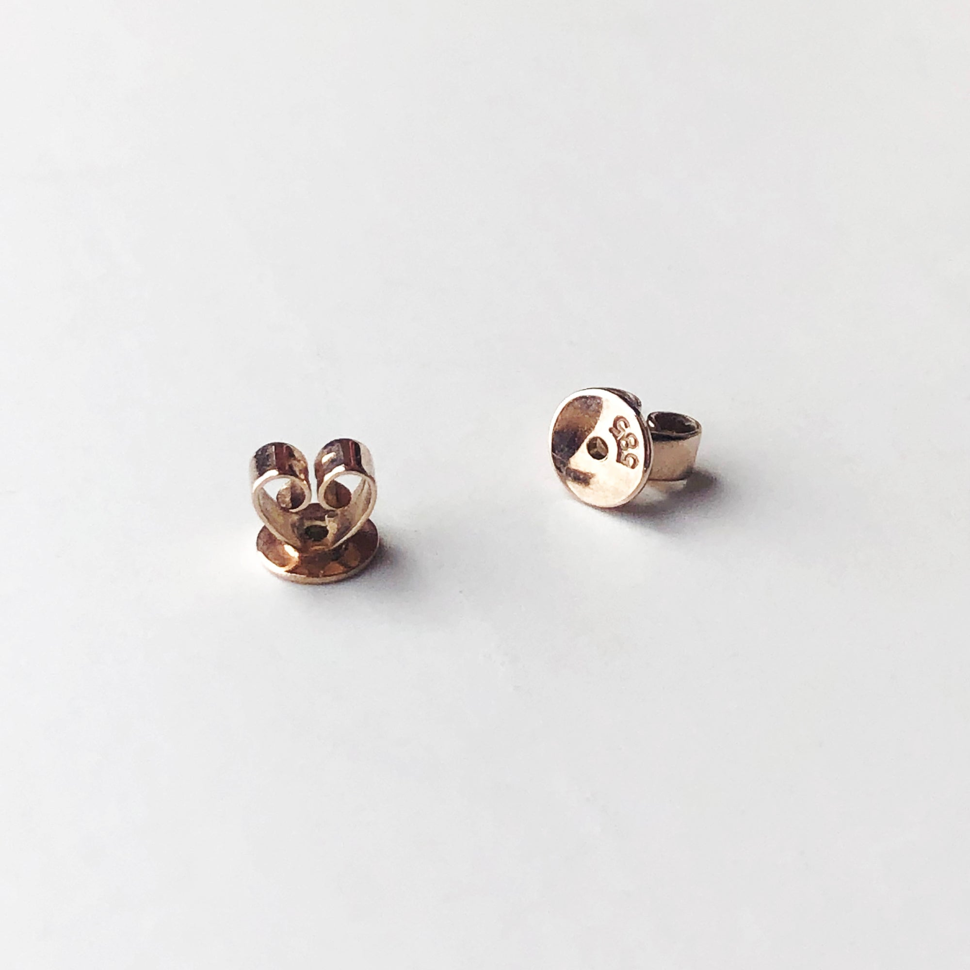 14K Gold Earring Backing