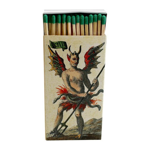 Decorative Matches ,Vintage Tarot Cards, Set of 2 matchboxes