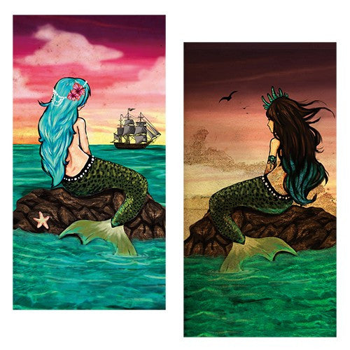 Decorative Matchboxes:Set of 2 Match Boxes, Wishing Mermaid