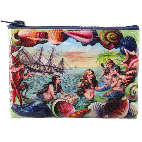 Seashell Mermaids Coin Purse