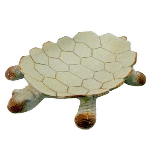 "IRON SANDY TURTLE TRAY 6.5x4.25x1""H"