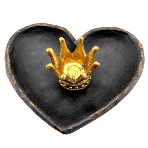"QUEEN OF HEARTS TRAY 4.125x1.5x4""L"
