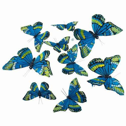 "MONARCH JUMBO BUTTERFLY GARLAND 8.5x78""h"