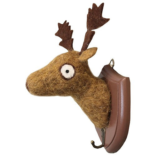 Deer Mount w/hook Wooly Friend