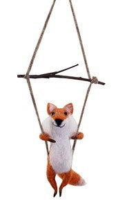 Swinging Fox Wooly Friend